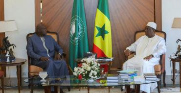 Lutte contre le Coronavirus, le Chef de l'Etat reçoit Benoit SAMBOU Président de la CNDT